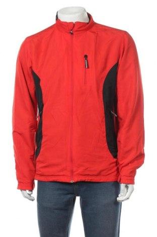 Мъжко спортно яке Crane, Размер L, Цвят Червен, Полиестер, Цена 13,65лв.