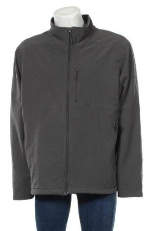 Мъжко спортно яке The North Face, Размер XXL, Цвят Сив, 86% полиестер, 14% еластан, Цена 69,62лв.