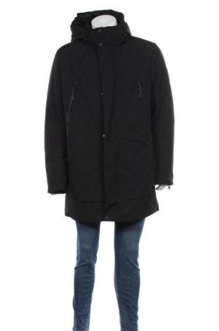 Мъжко яке Tom Tailor, Размер XL, Цвят Черен, 85% полиестер, 15% памук, Цена 98,55лв.