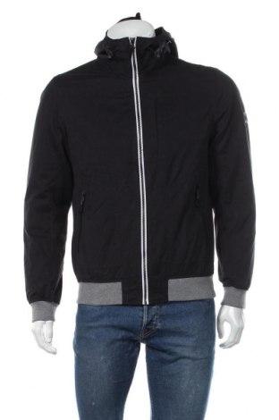 Мъжко яке Tom Tailor, Размер M, Цвят Черен, 75% полиестер, 15% памук, 10% полиамид, Цена 39,76лв.