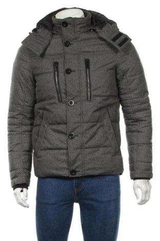 Ανδρικό μπουφάν Tom Tailor, Μέγεθος S, Χρώμα Γκρί, Πολυεστέρας, Τιμή 33,78€