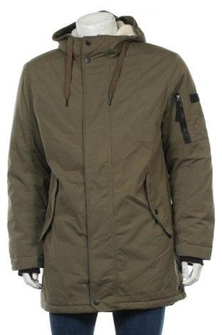 Мъжко яке Tom Tailor, Размер L, Цвят Зелен, 85% полиестер, 15% памук, Цена 78,97лв.