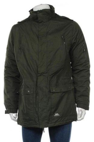 Мъжко спортно яке Trespass, Размер M, Цвят Зелен, Полиестер, Цена 91,20лв.
