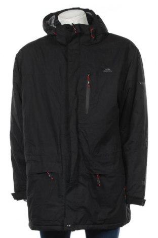 Мъжко спортно яке Trespass, Размер XXL, Цвят Черен, Полиестер, Цена 103,32лв.