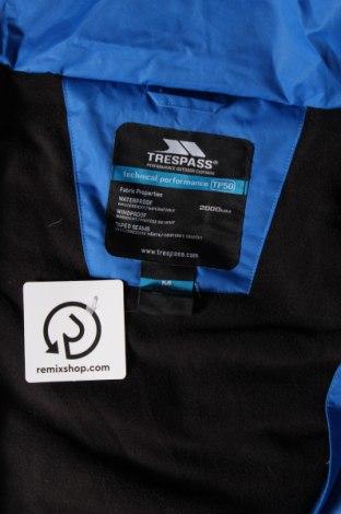 Мъжко яке за зимни спортове Trespass, Размер M, Цвят Син, Полиестер, Цена 136,50лв.