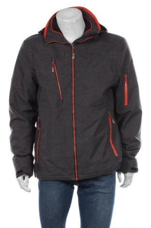 Мъжко яке за зимни спортове Killtec, Размер L, Цвят Сив, Полиестер, Цена 102,06лв.
