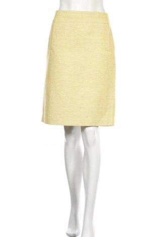 Φούστα Banana Republic, Μέγεθος M, Χρώμα Κίτρινο, 75% βαμβάκι, 15% λινό, 10% πολυεστέρας, Τιμή 10,46€
