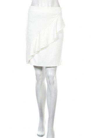 Φούστα Mango, Μέγεθος M, Χρώμα Λευκό, 98% βισκόζη, 2% ελαστάνη, Τιμή 7,97€