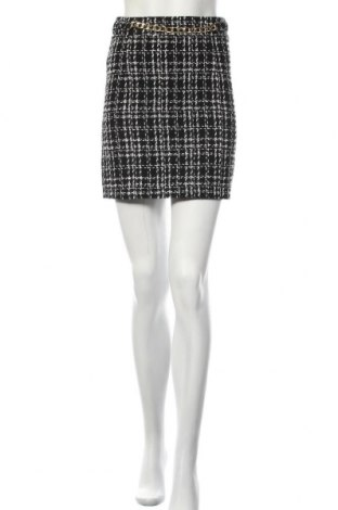 Пола New Look, Размер S, Цвят Черен, 89% полиестер, 6% вискоза, 3% памук, 2% полиамид, Цена 36,75лв.