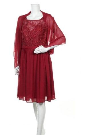 Φόρεμα Mascara, Μέγεθος XL, Χρώμα Κόκκινο, Πολυεστέρας, Τιμή 45,16€