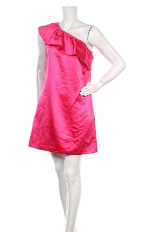 Φόρεμα Naf Naf, Μέγεθος M, Χρώμα Ρόζ , Πολυεστέρας, Τιμή 10,58€