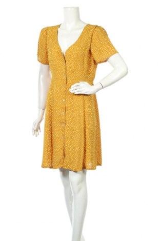 Рокля ONLY, Размер L, Цвят Жълт, Полиестер, Цена 35,40лв.