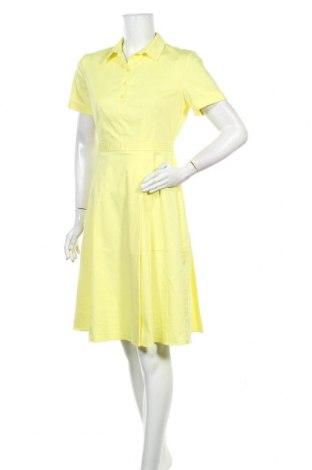 Рокля Reserved, Размер M, Цвят Жълт, 72% памук, 26% полиестер, 2% еластан, Цена 22,40лв.