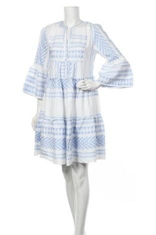 Φόρεμα Tom Tailor, Μέγεθος S, Χρώμα Λευκό, Βαμβάκι, Τιμή 15,73€