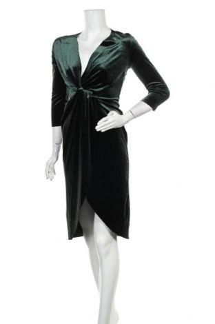 Рокля Zara, Размер S, Цвят Зелен, Цена 36,00лв.