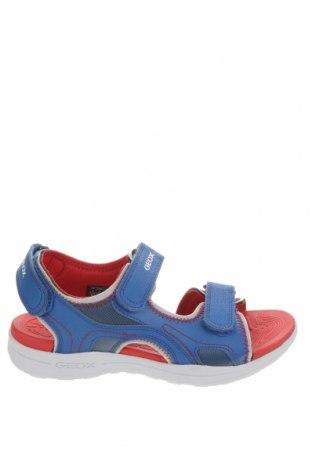 Sandale Geox, Mărime 37, Culoare Albastru, Piele ecologică, Preț 305,76 Lei