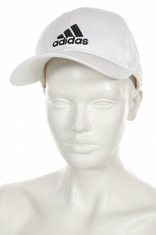 Căciulă Adidas, Culoare Alb, Bumbac, Preț 36,91 Lei