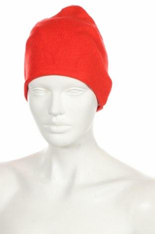 Čepice  Tom Tailor, Barva Červená, 52% viskóza, 27% polyester, 21% polyamide, Cena  198,00Kč