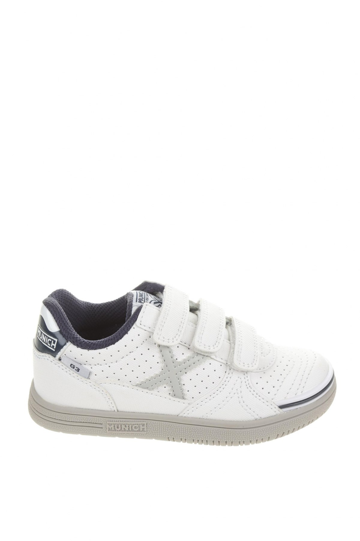 Παιδικά παπούτσια Munich, Μέγεθος 27, Χρώμα Λευκό, Κλωστοϋφαντουργικά προϊόντα, Τιμή 24,33€