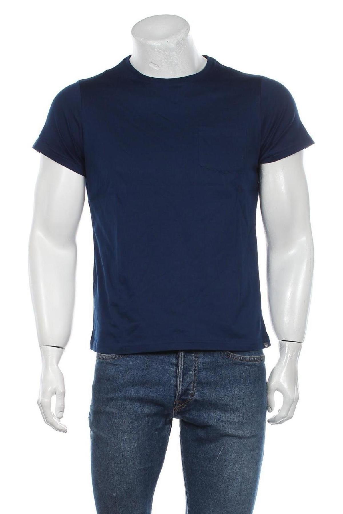 Мъжка тениска Grayson, Размер S, Цвят Син, Памук, Цена 12,60лв.