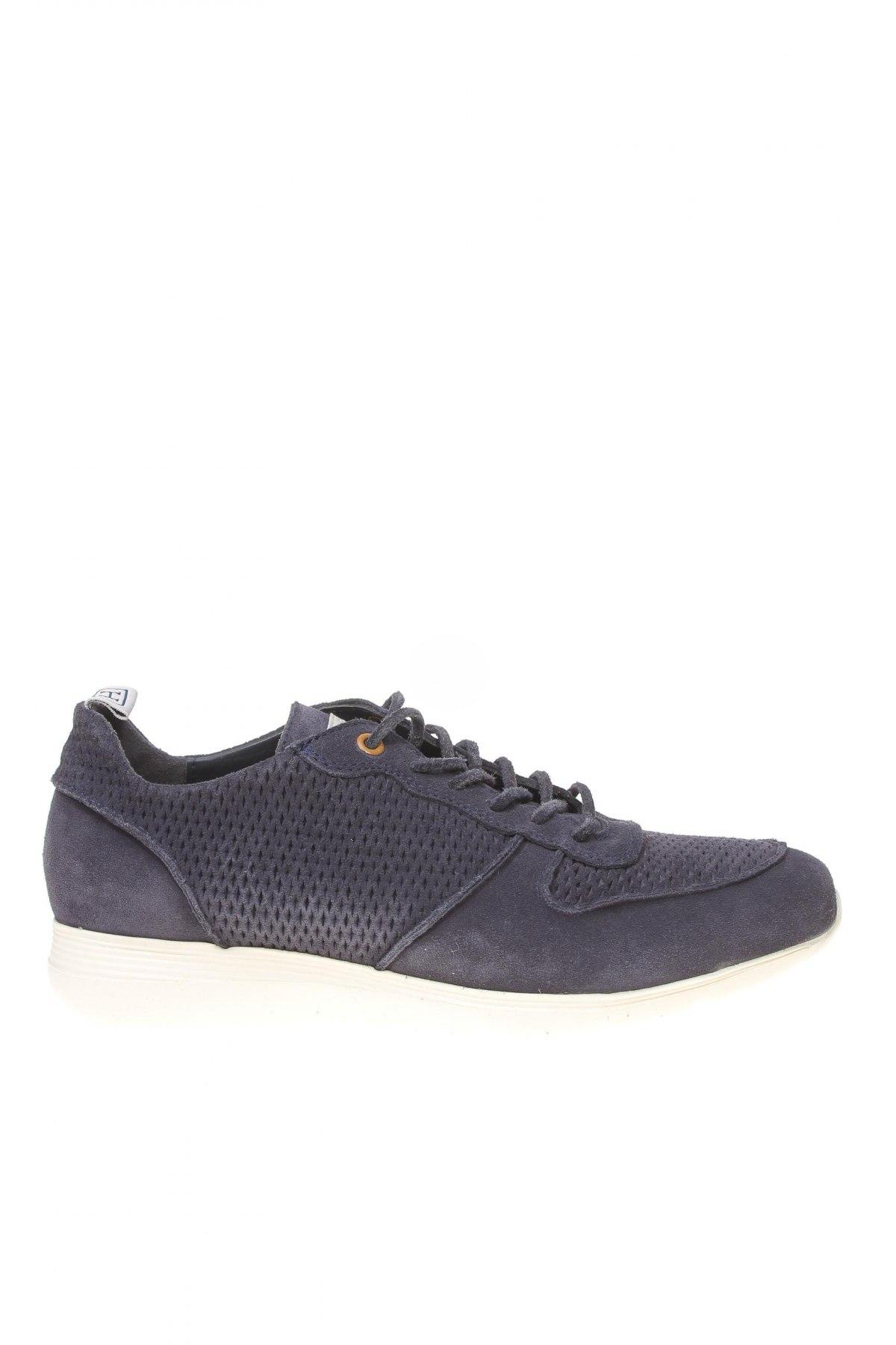 Ανδρικά παπούτσια Hackett, Μέγεθος 41, Χρώμα Μπλέ, Φυσικό σουέτ, Τιμή 111,73€