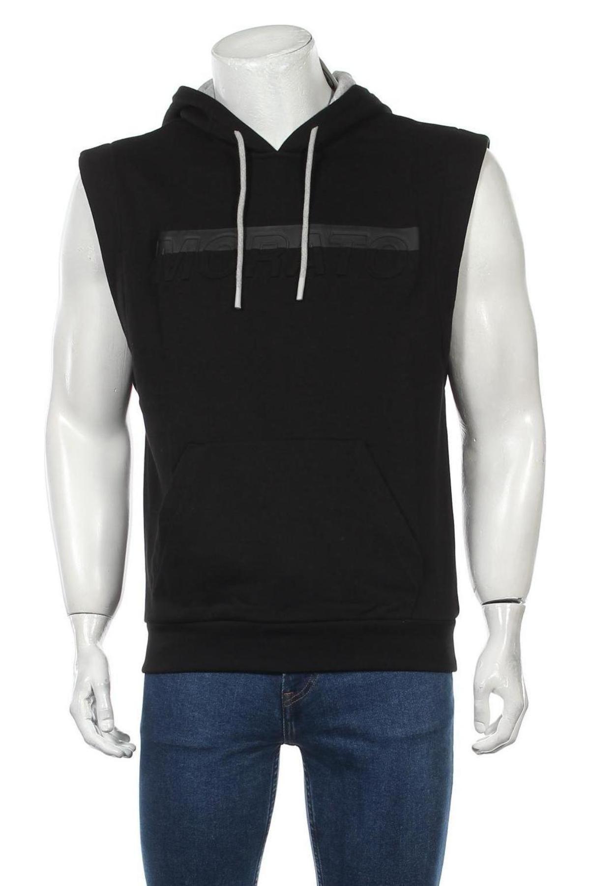 Мъжки суичър Antony Morato, Размер XL, Цвят Черен, 80% памук, 20% полиестер, Цена 44,07лв.