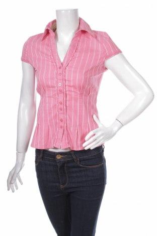 Дамска риза Next, Размер S, Цвят Розов, 66% памук, 21% полиамид, 7% вискоза, 3% полиестер, 3% еластан, Цена 4,00лв.