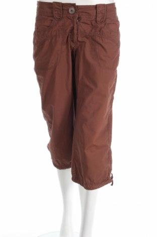 Дамски панталон H&M, Размер M, Цвят Кафяв, Памук, Цена 5,06лв.