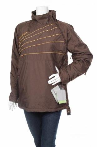 Дамско яке за зимни спортове Maui Wowie, Размер M, Цвят Кафяв, Полиамид, Цена 69,60лв.