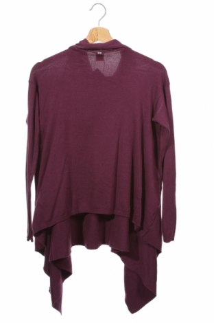 Детски пуловер S.Oliver, Размер 10-11y/ 146-152 см, Цвят Лилав, 48% вискоза, 35% полиамид, 16% памук, 1% еластан, Цена 40,30лв.