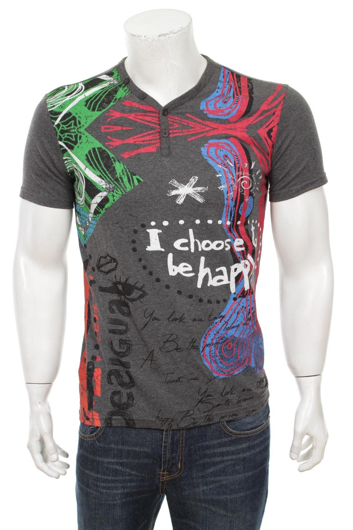 Pánske tričko Desigual - za výhodnú cenu na Remix -  102385606 4d3c8dfa1c6