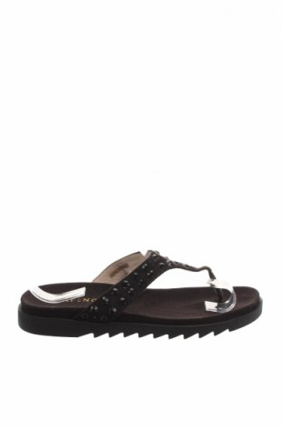 Papuci de casă Cafenoir, Mărime 36, Culoare Negru, Textil, Preț 40,00 Lei