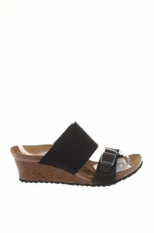 Γυναικεία παπούτσια Papillio, Μέγεθος 37, Χρώμα Μαύρο, Γνήσιο δέρμα, κλωστοϋφαντουργικά προϊόντα, Τιμή 18,32€