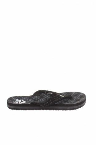 Γυναικεία παπούτσια Reef, Μέγεθος 33, Χρώμα Μαύρο, Δερματίνη, κλωστοϋφαντουργικά προϊόντα, Τιμή 11,13€