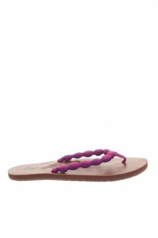 Papuci de casă Reef, Mărime 35, Culoare Violet, Textil, Preț 37,78 Lei