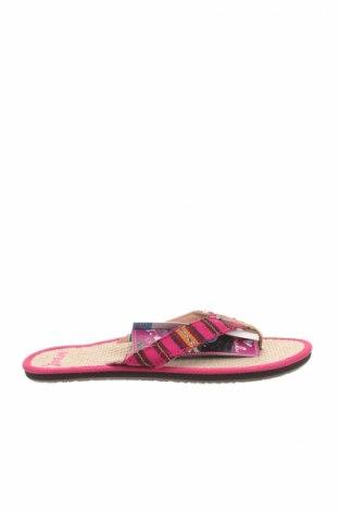 Papuci de casă Reef, Mărime 36, Culoare Multicolor, Textil, Preț 28,96 Lei