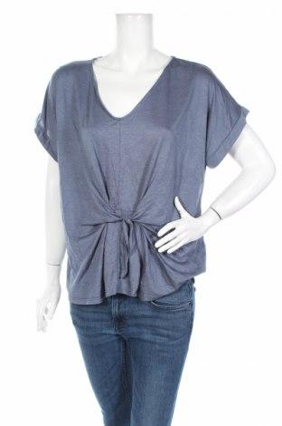 Дамска блуза Alya, Размер L, Цвят Син, 73% вискоза, 27% полиестер, Цена 6,80лв.