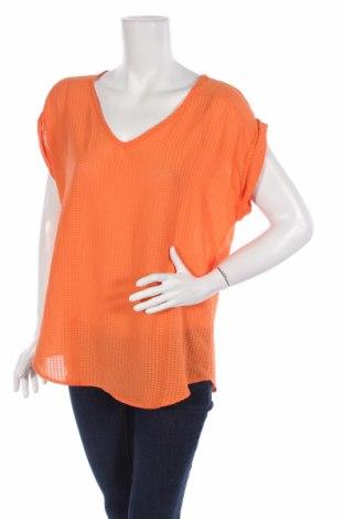 Дамска блуза Antilia Femme, Размер L, Цвят Оранжев, Полиестер, Цена 7,20лв.