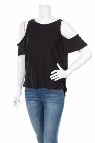 Дамска блуза Primark, Размер L, Цвят Черен, 54% памук, 46% полиестер, Цена 6,80лв.