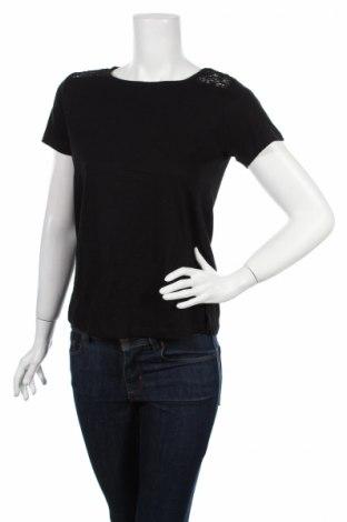 Дамска блуза Primark, Размер S, Цвят Черен, 100% памук, Цена 7,20лв.