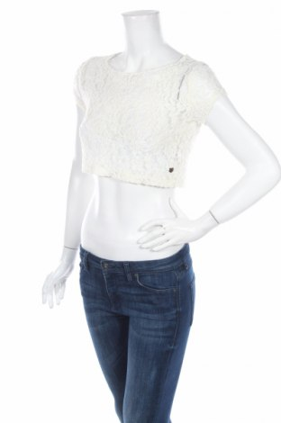 Детска блуза Tom Tailor, Размер 10-11y/ 146-152 см, Цвят Бял, 85% полиестер, 15% полиамид, Цена 8,00лв.
