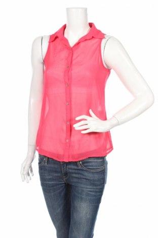 Дамска риза Bella Ragazza, Размер XS, Цвят Розов, Полиестер, Цена 5,50лв.