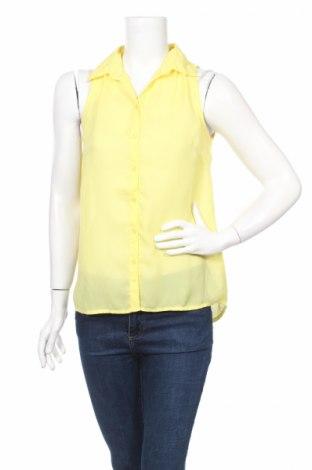 Γυναικείο πουκάμισο Bodyflirt, Μέγεθος S, Χρώμα Κίτρινο, Πολυεστέρας, Τιμή 3,74€