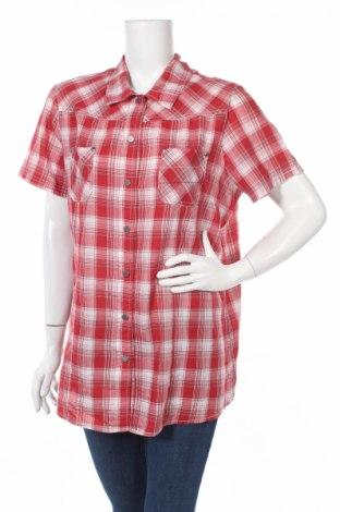 Дамска риза Green House, Размер XL, Цвят Червен, 65% полиестер, 35% памук, Цена 6,40лв.