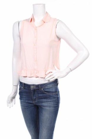 Γυναικείο πουκάμισο Miss Selfridge, Μέγεθος S, Χρώμα Ρόζ , Βισκόζη, Τιμή 4,45€