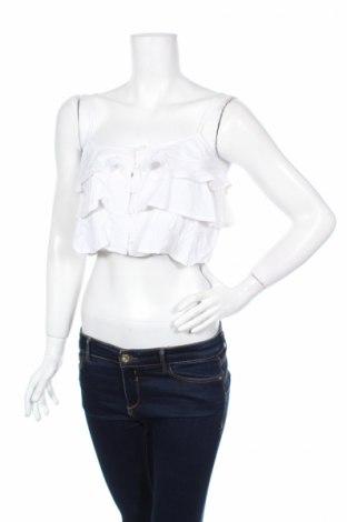 Γυναικείο πουκάμισο Twentyfourseven, Μέγεθος S, Χρώμα Λευκό, 100% βισκόζη, Τιμή 3,07€