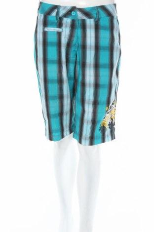 Γυναικείο κοντό παντελόνι Authority, Μέγεθος S, Χρώμα Πολύχρωμο, Πολυεστέρας, Τιμή 3,88€