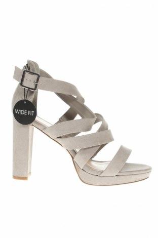 Sandale New Look, Mărime 40, Culoare Bej, Textil, Preț 35,56 Lei