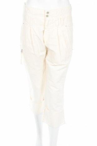 Dámské kalhoty  Diesel, Velikost M, Barva Krémová, 75% bavlna, 25% viskóza, Cena  586,00Kč