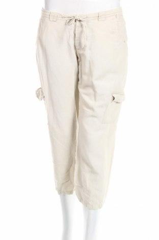 Дамски панталон Outer Edge, Размер M, Цвят Бежов, 55% лен, 45% вискоза, Цена 5,28лв.
